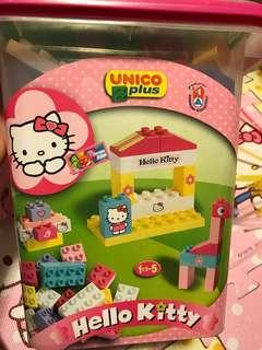 Hello kitty Lego積木