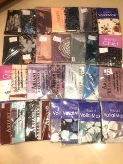 Shawl & Bawal collection by ILusiKita  [POSTAGE INCLUDED]