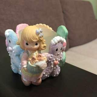 Precious Moments Candle Holder