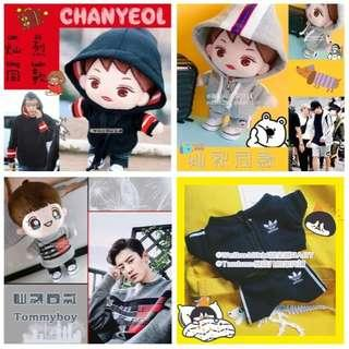 (PO) 15cm & 20cm Doll Hoodie & Pullover Series
