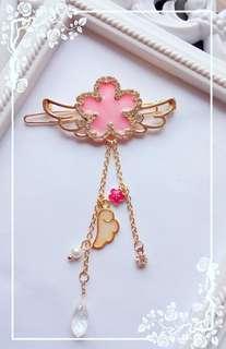 Winged Sakura Hairclip