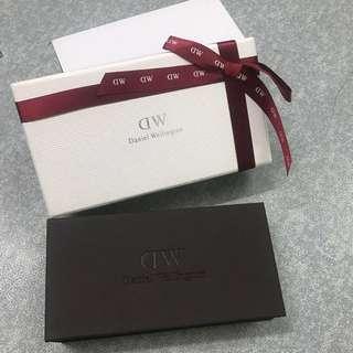 Authentic Daniel Wellington Box