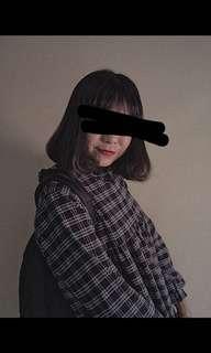 🚚 🕯格子小洋裝