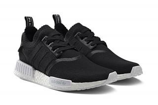 dfae25e160bd9 Adidas NMD R1 Monochrome Black
