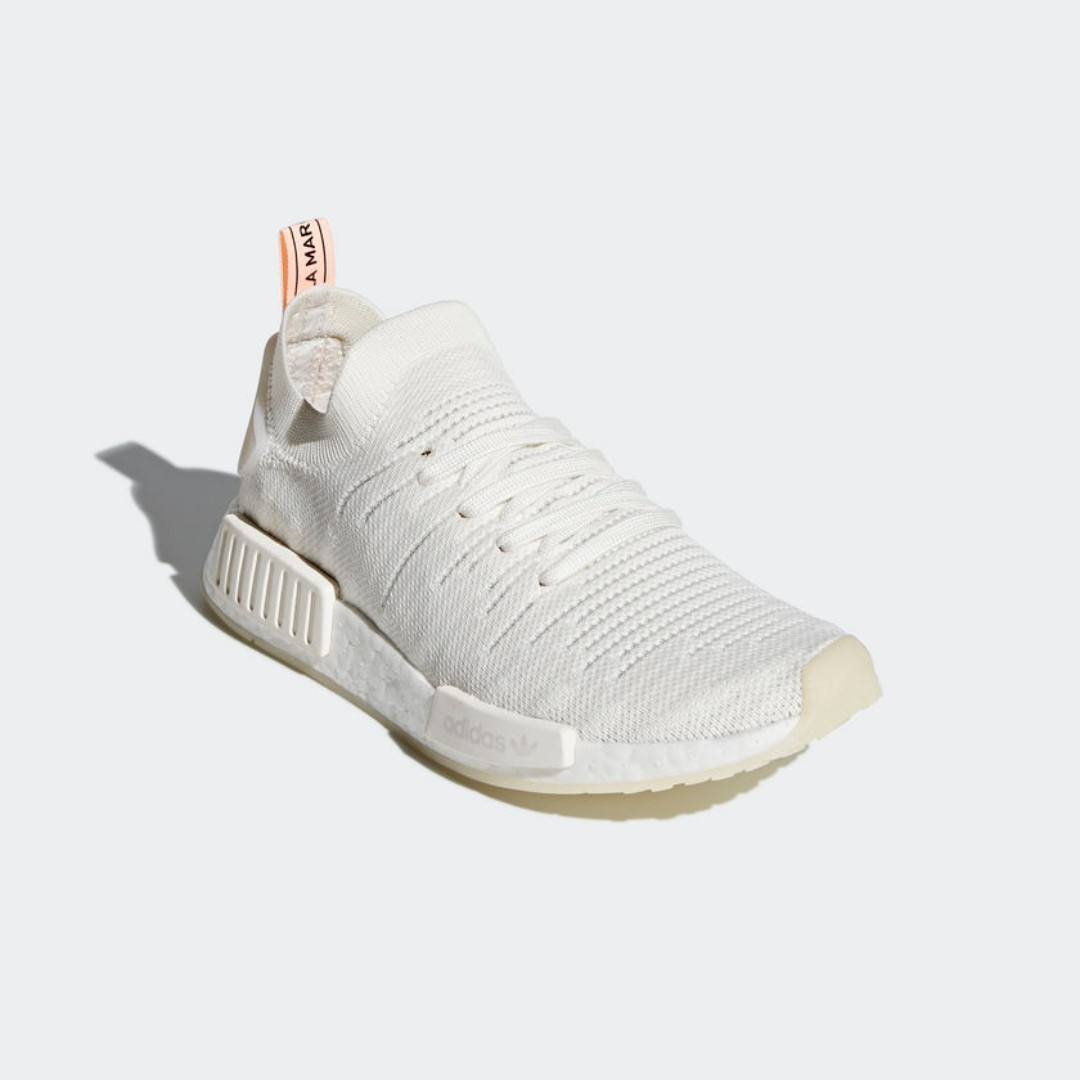 169af61bc  LIMITED TIME OFFER  ADIDAS NMD R1 STLT PRIMEKNIT WOMEN S - CLOUD WHITE  CLOUD WHITE CLEAR ORANGE