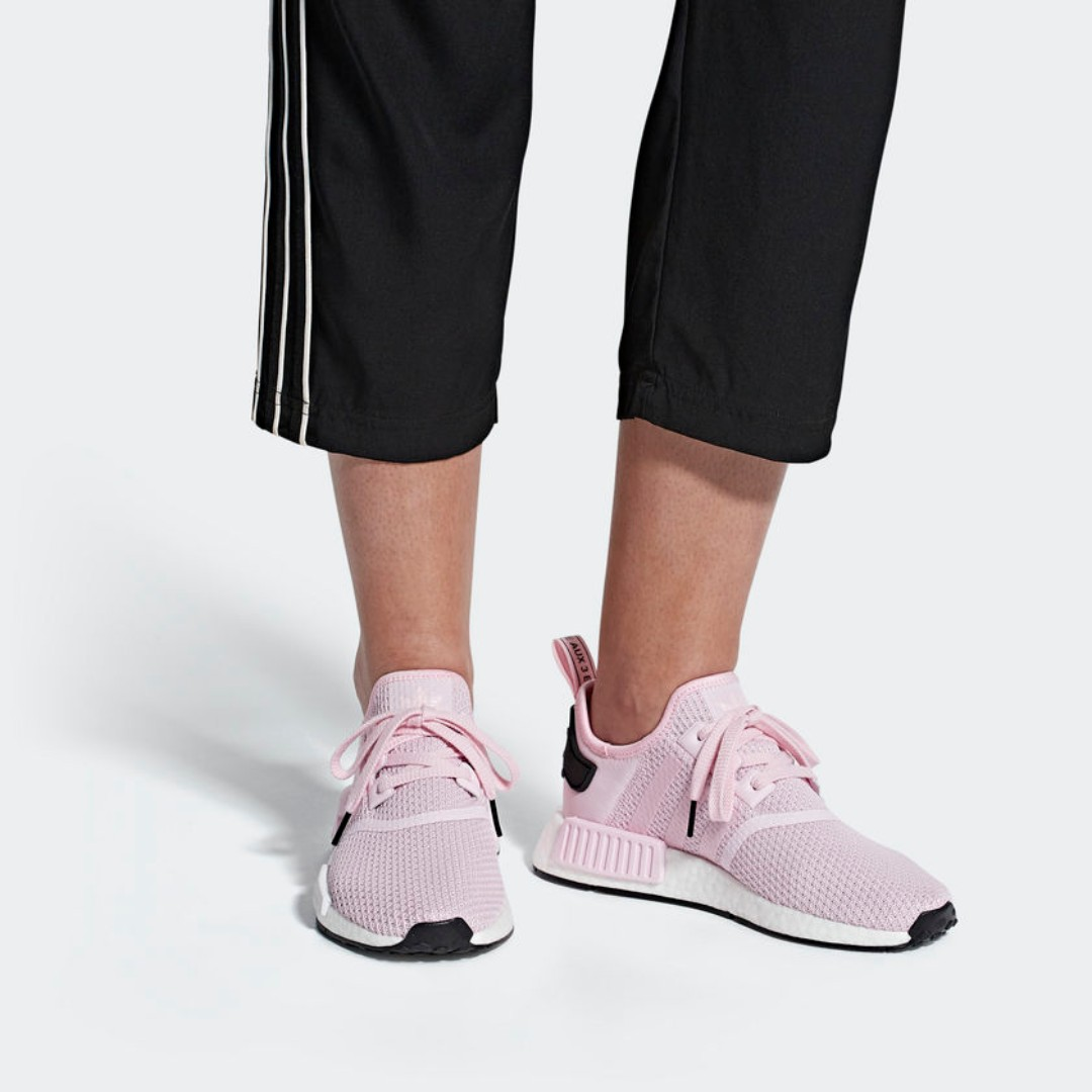 b9cb57624d4 LIMITED TIME OFFER  ADIDAS NMD R1 WOMEN S - CLEAR PINK CLOUD WHITE ...