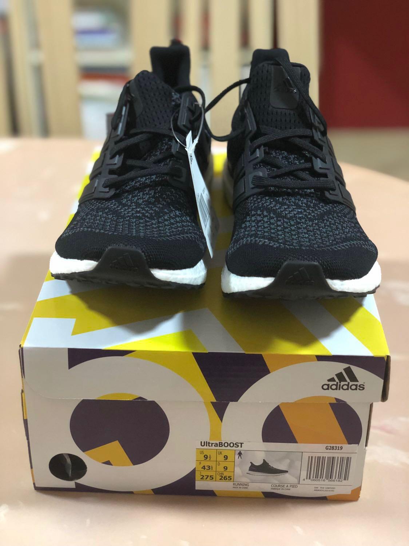 6098b02fa0ef6 Adidas Ultraboost Black Purple 1.0 OG
