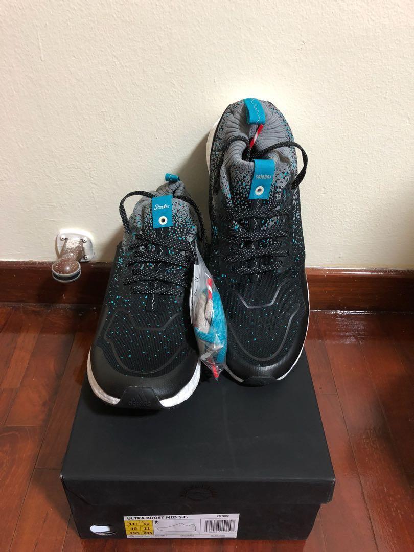 9d4ed8a9b40a4 Adidas x packer shoes x Solebox Ultraboost UK11