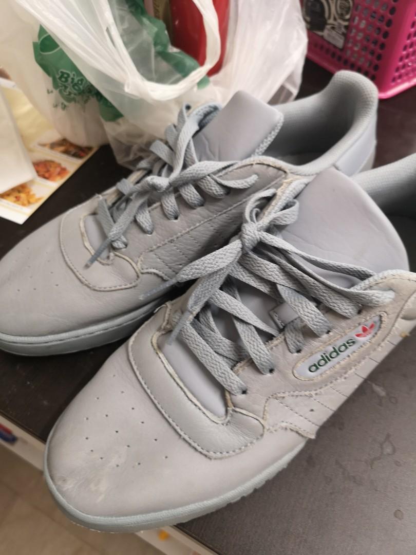 the latest c4632 4236d US11.5 Adidas Yeezy Powerphase Calabasas (Grey), Men s Fashion ...