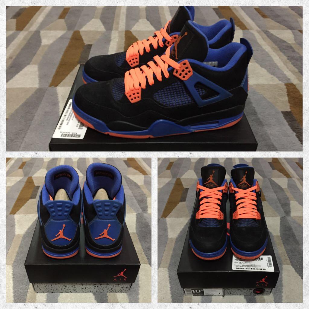 e7554db61a7 Air Jordan 4 Cavs, Men's Fashion, Footwear, Sneakers on Carousell