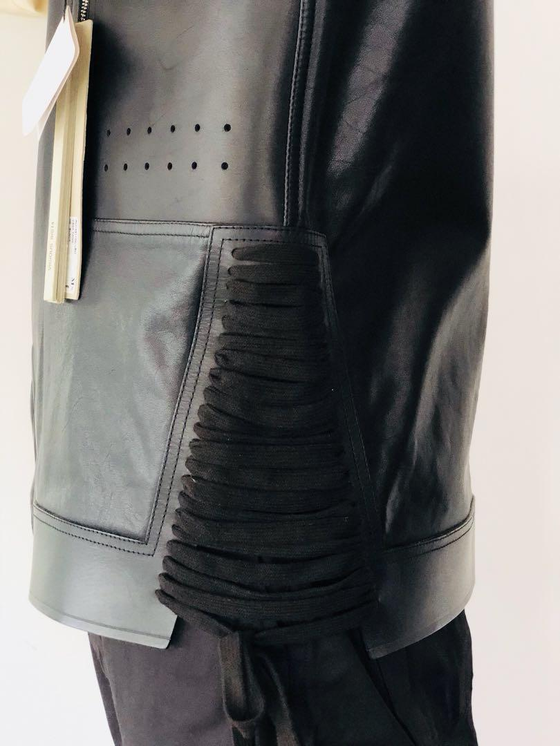 Authentic Rick Owens SS14 Off-the-runway Leather West
