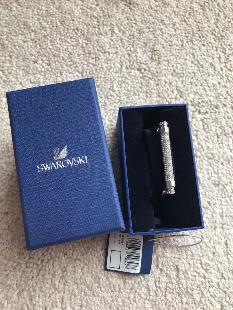 Authentic Swarovski hand cuffs silver