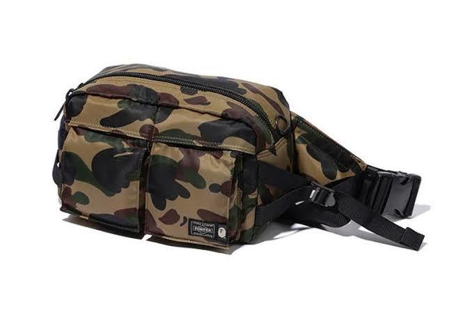 a84984d7fbf7 BN BAPE x PORTER 1st Camo Shoulder Bag