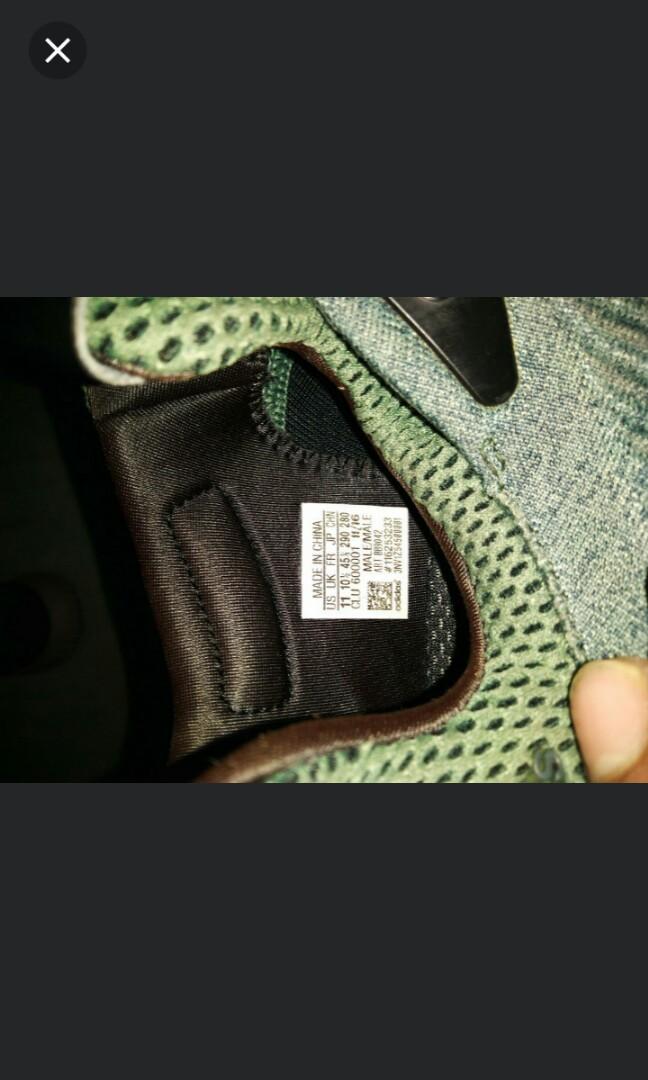 e5d82616ce38a (BB9042)Adidas ALPHABOUNCE EM POISON LVY  ARMY GREEN GREY MEN SNEAKERS