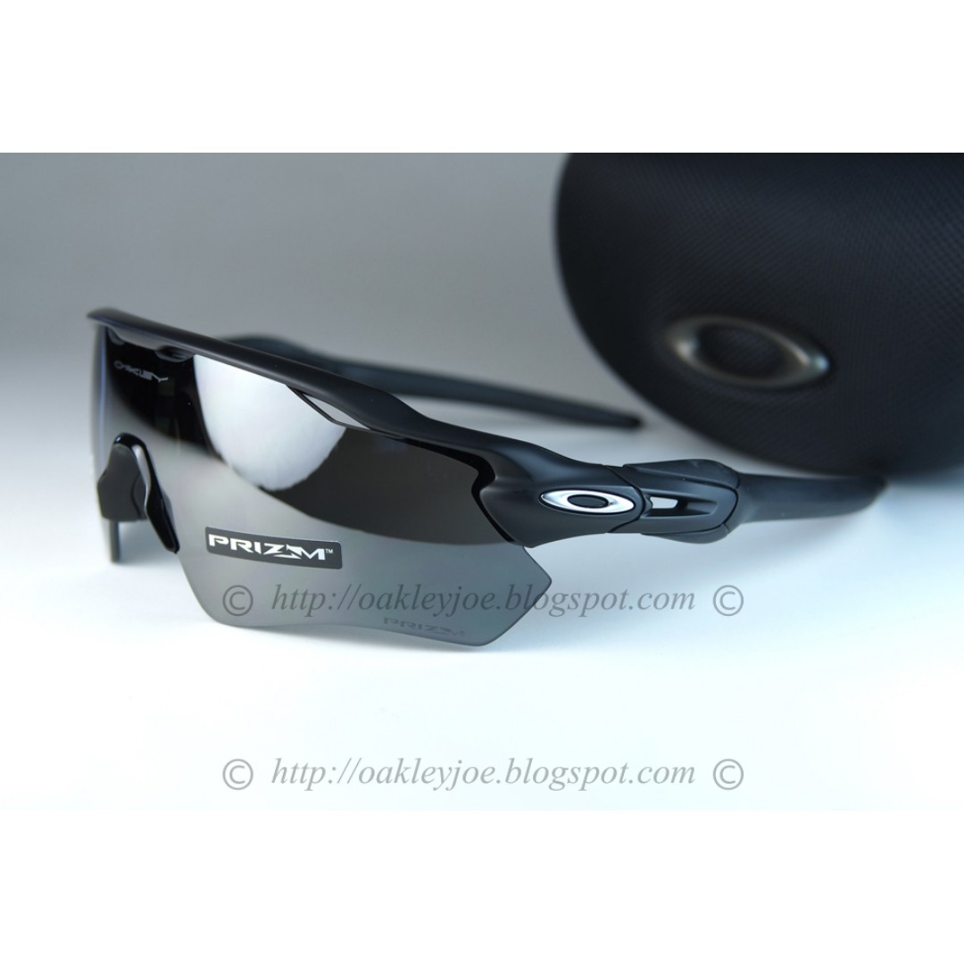 c8b724c42f BNIB Oakley Radar EV Path polished black + prizm black iridium ...