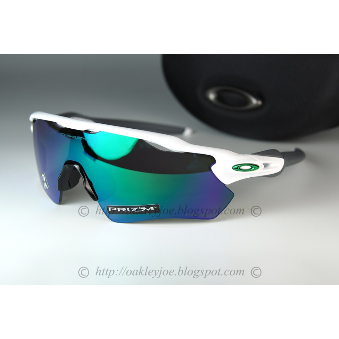 e5d4c1b16585 BNIB Oakley Radar EV Path polished white + prizm jade OO9208-7138 ...