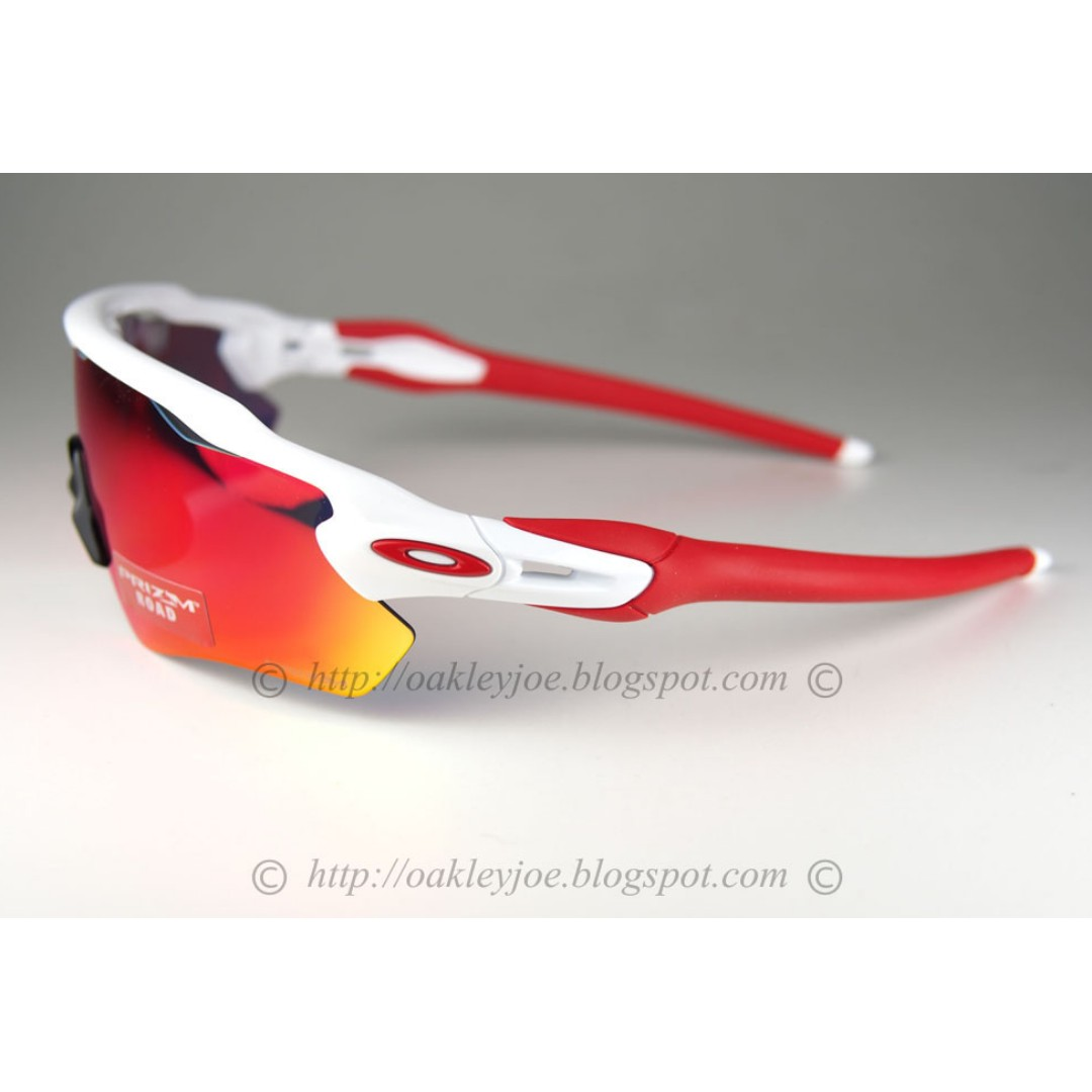 9e83ce958ec BNIB Oakley Radar EV Path polished white + road prizm oo9208-05 sunglass  shades