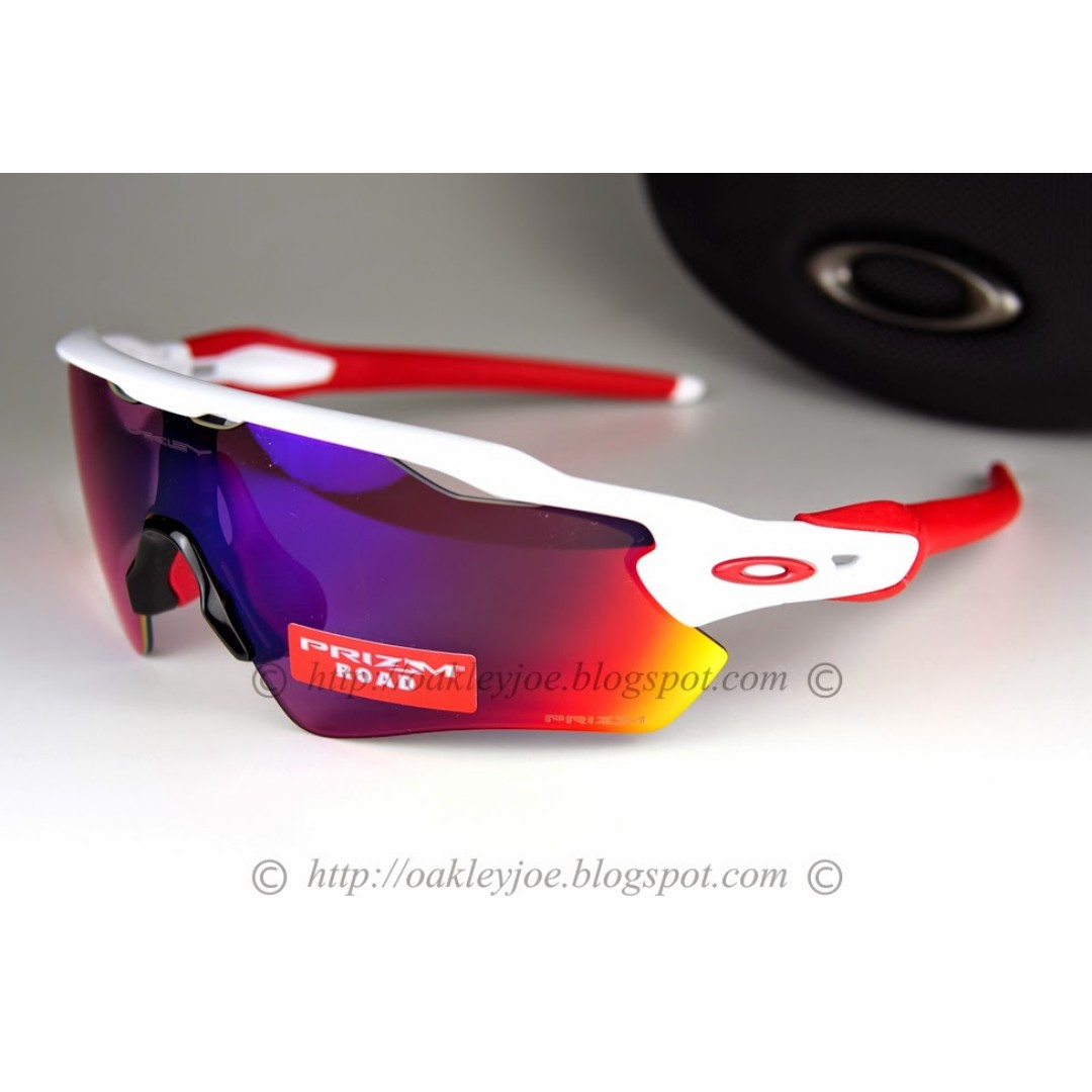 5f96b162269 BNIB Oakley Radar EV Path polished white + road prizm oo9208-05 ...