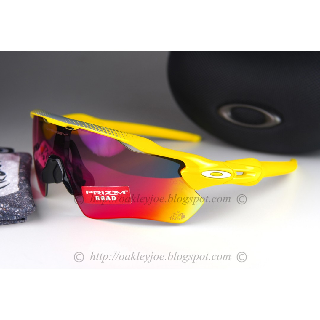 f3d2366c45 BNIB Oakley Radar EV Path Tour de France team yellow + road prizm ...