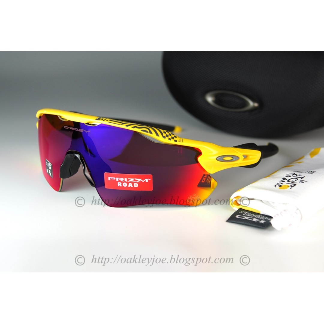 aa204261f5 BNIB Oakley Radar EV Path Tour de France yellow + prizm road oo9208 ...