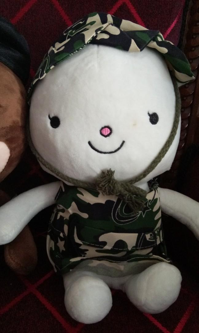 boneka korea dots new