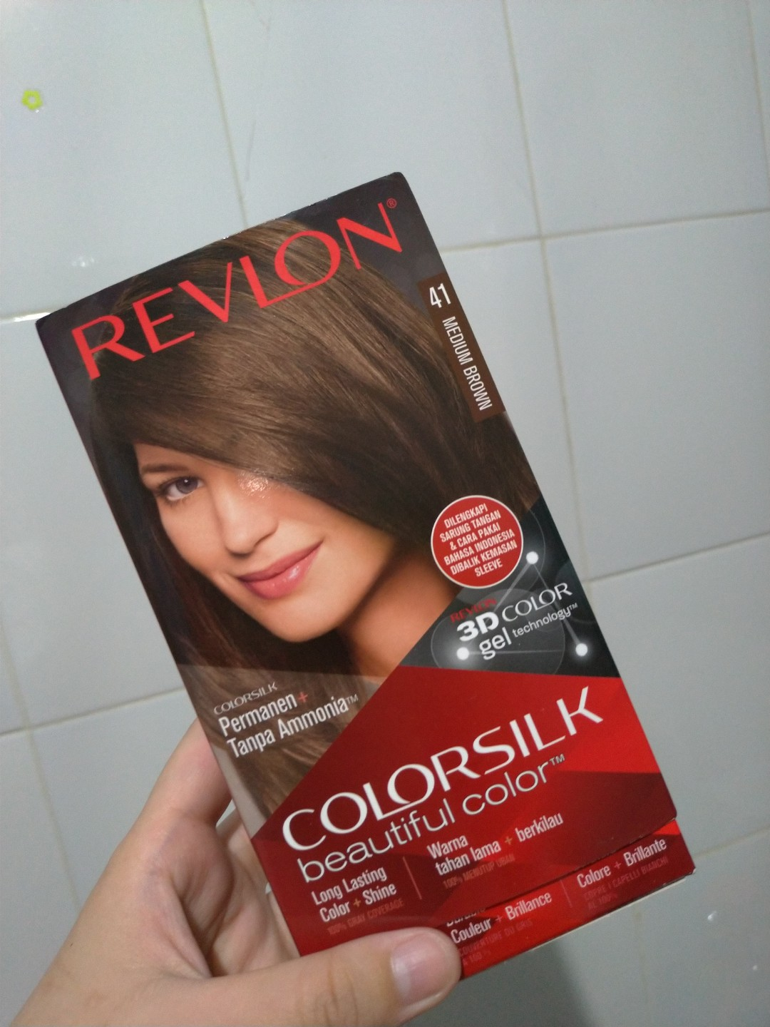 CAT RAMBUT REVLON MEDIUM BROWN 041, Health & Beauty, Hair Care on Carousell