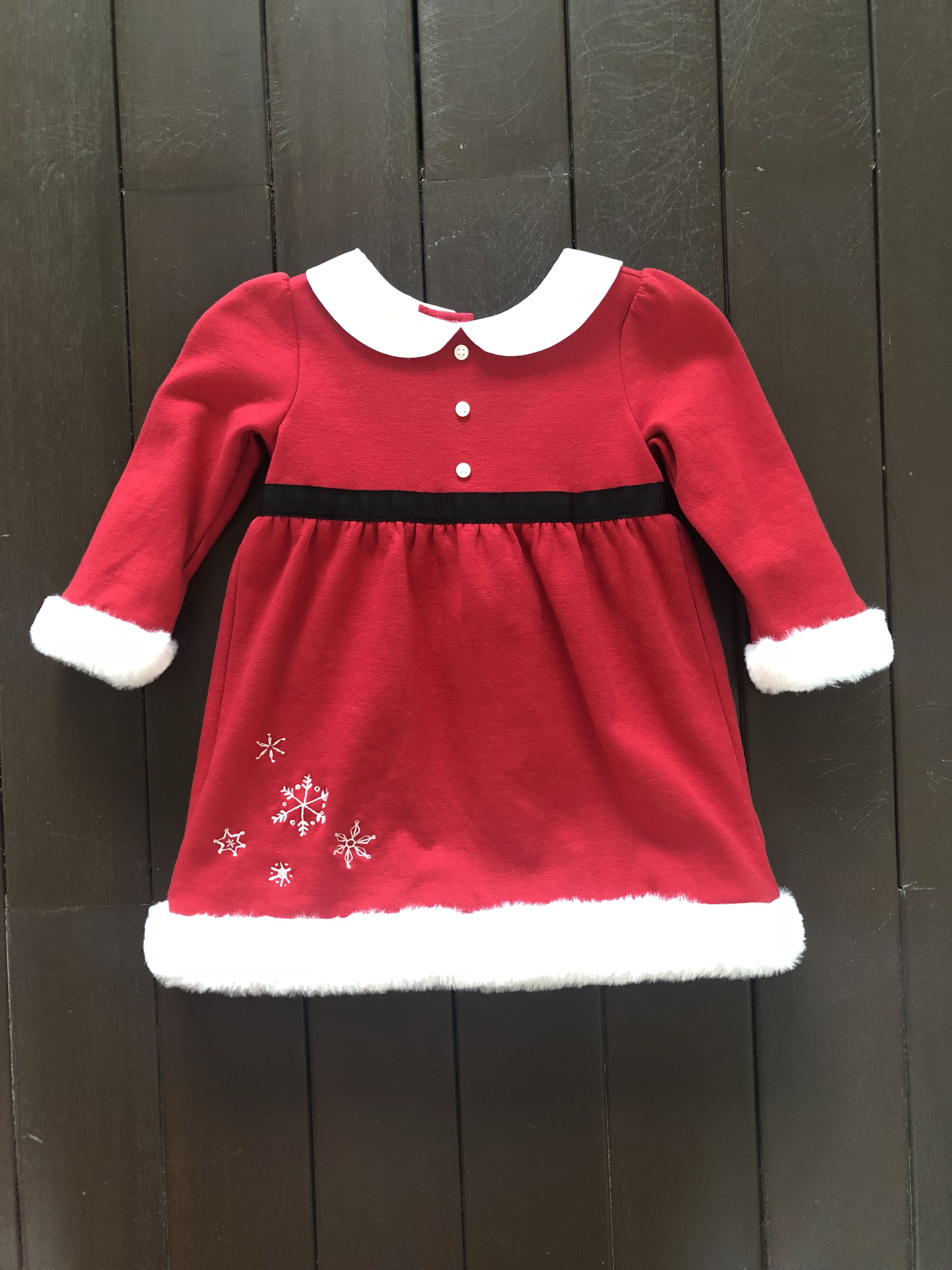 061263236 Christmas Santa outfit for girls