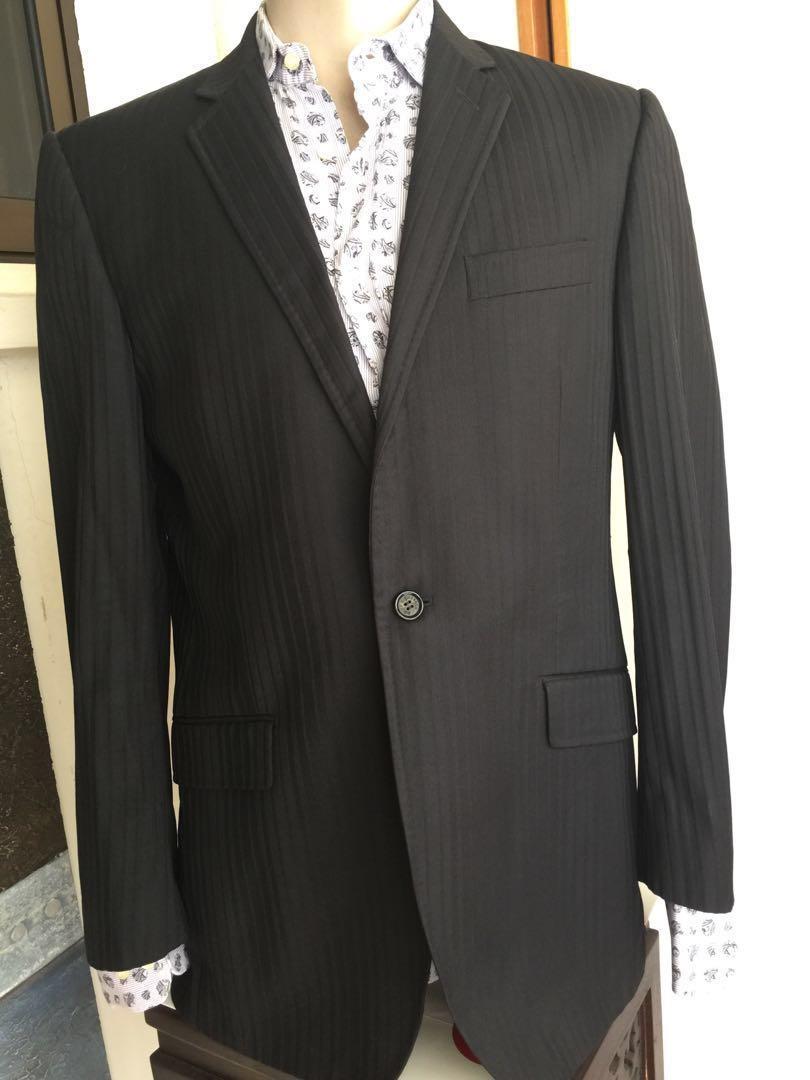 a54b8335762e74 D G Dolce Gabbana Men Dinner Jacket Blazer Coat Sz 50, Men s Fashion ...