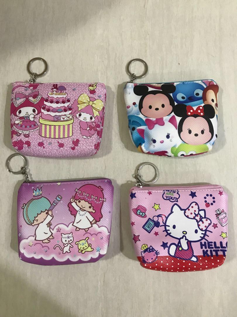 38c53da00 DISNEY KEYRING COIN POUCH KIDS, Women's Fashion, Bags & Wallets ...