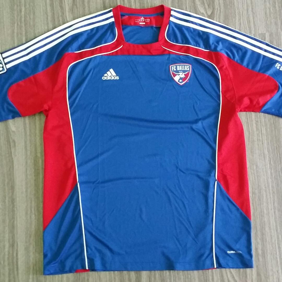 c2597ee37f2 FC Dallas Adidas Training Jersey XXL 2XL