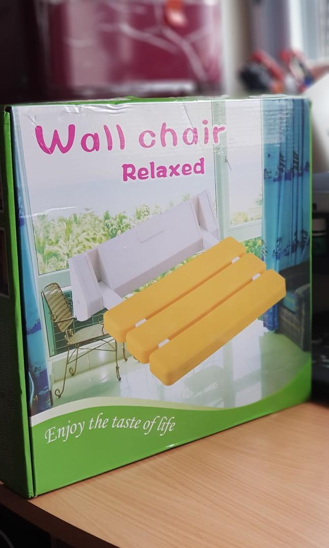 Foldable wall chair (New)
