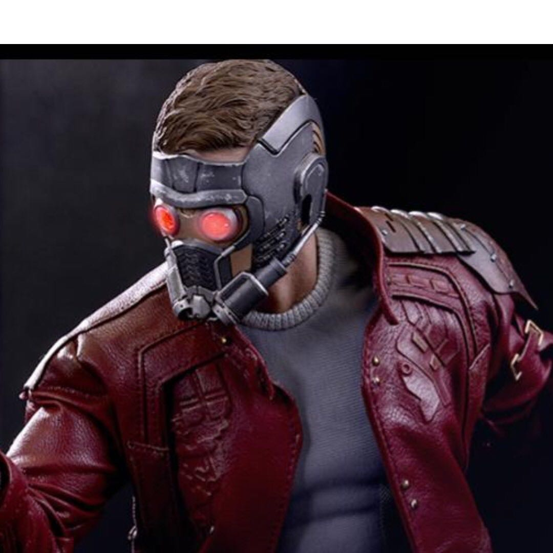 Hot Toys MMS 255 Guardians Of The Galaxy - 1/6 Star-Lord masked head
