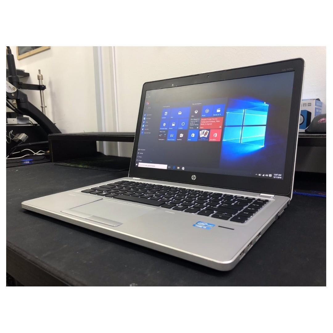Hp Slim Lightweight I5 Laptop Ms Office Led Keyboard