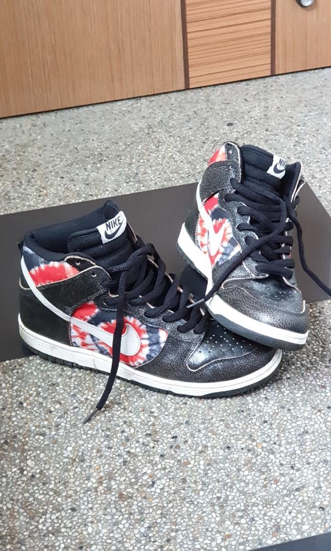 new product 5e6d3 b03c0 HUF Nike Dunk High Pro SB, Men s Fashion, Footwear, Sneakers on ...