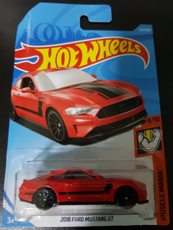Hotwheels 18 ford mustang gt🚘