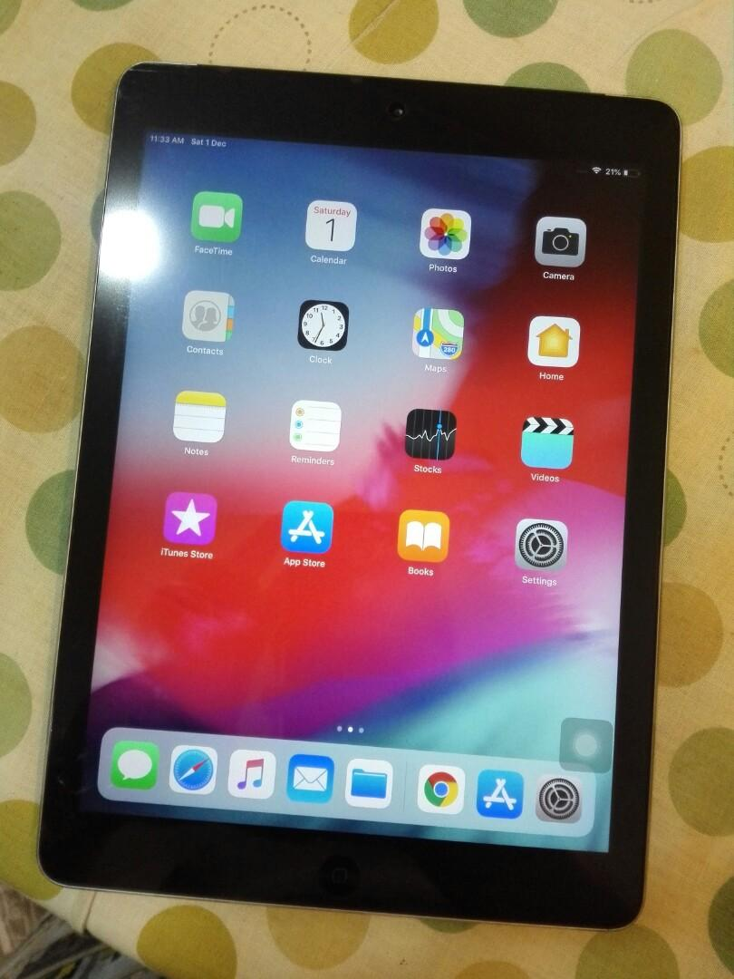 Ipad Air 32gb with Celullar