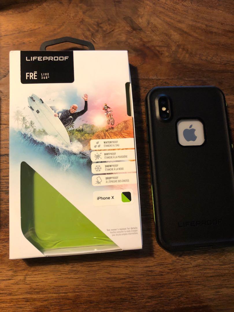 new arrival 62162 94eef iPhone X Lifeproof casing