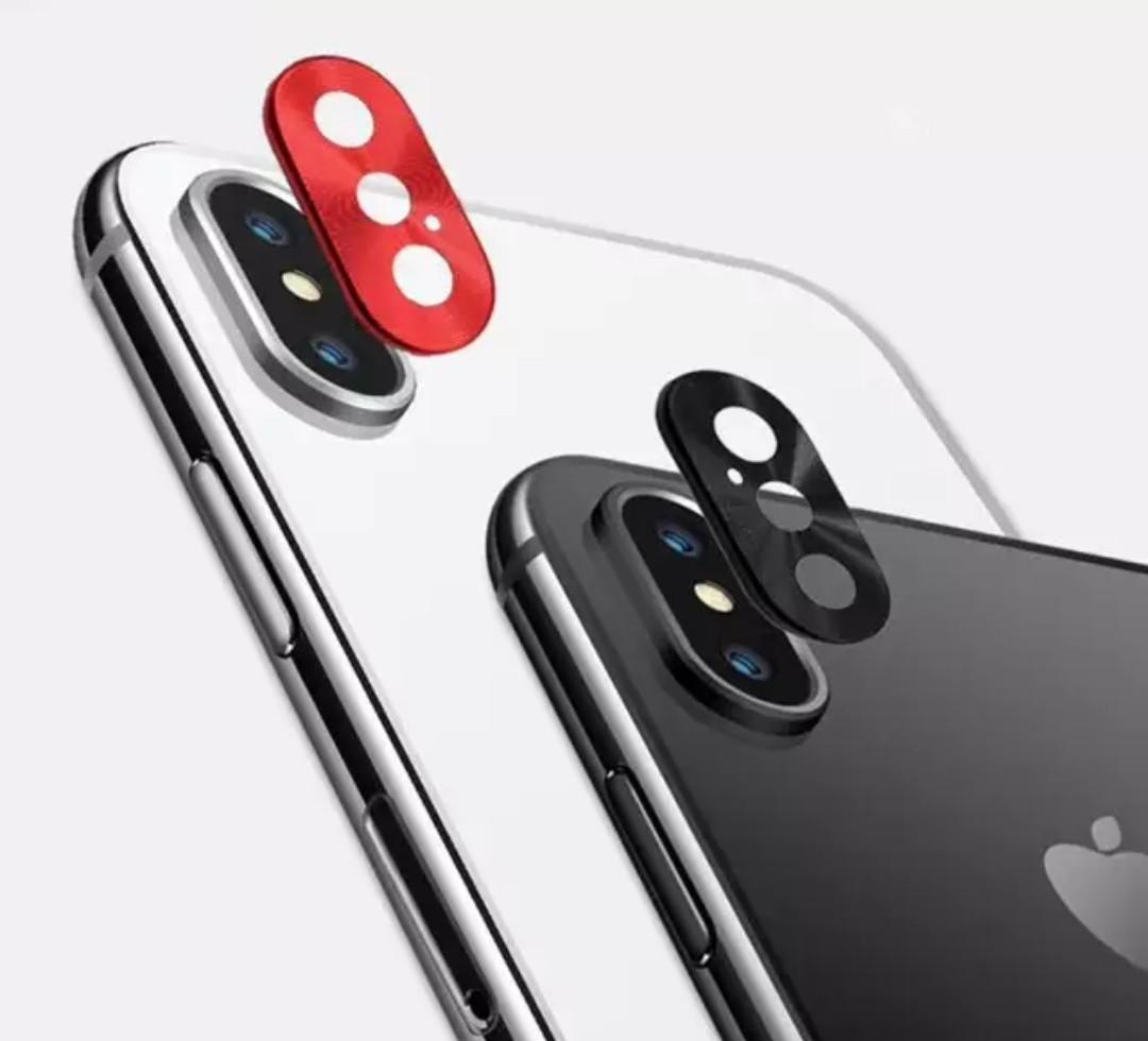 Iphone X Xs Max Camera Back Lens Protect Guard Sticker Cap Mobile
