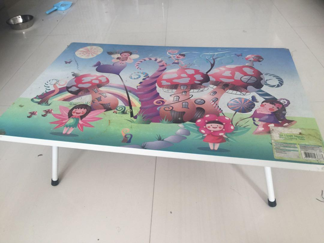 Kids Table Japanese Folding Table Everything Else On Carousell