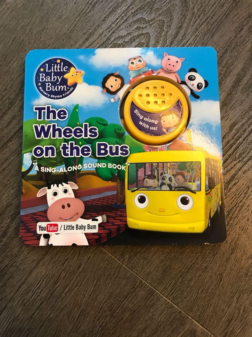 Little Baby Bum The Wheels On The Bus Book Books Stationery Children S Books On Carousell