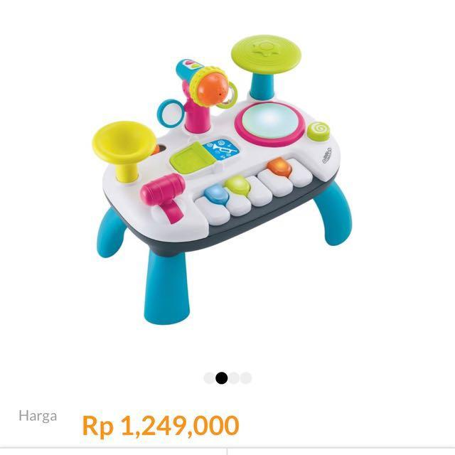 Little Senses Lights and Sounds Music Station Permainan Musikal Anak
