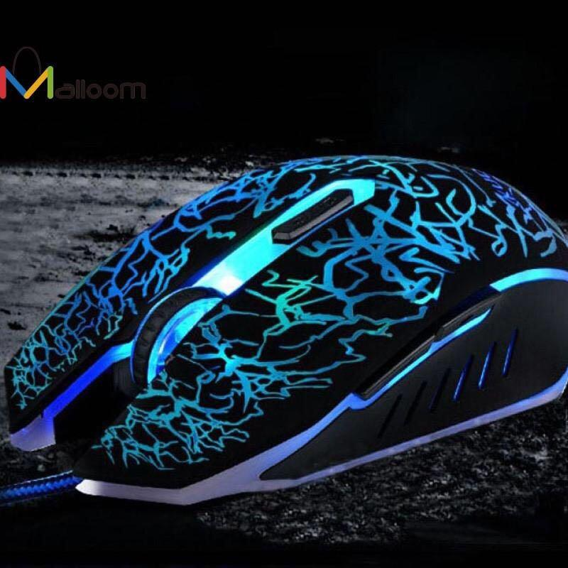 Malloom Professional Gaming USB Wired Mouse 4000 DPI 6 Bottons