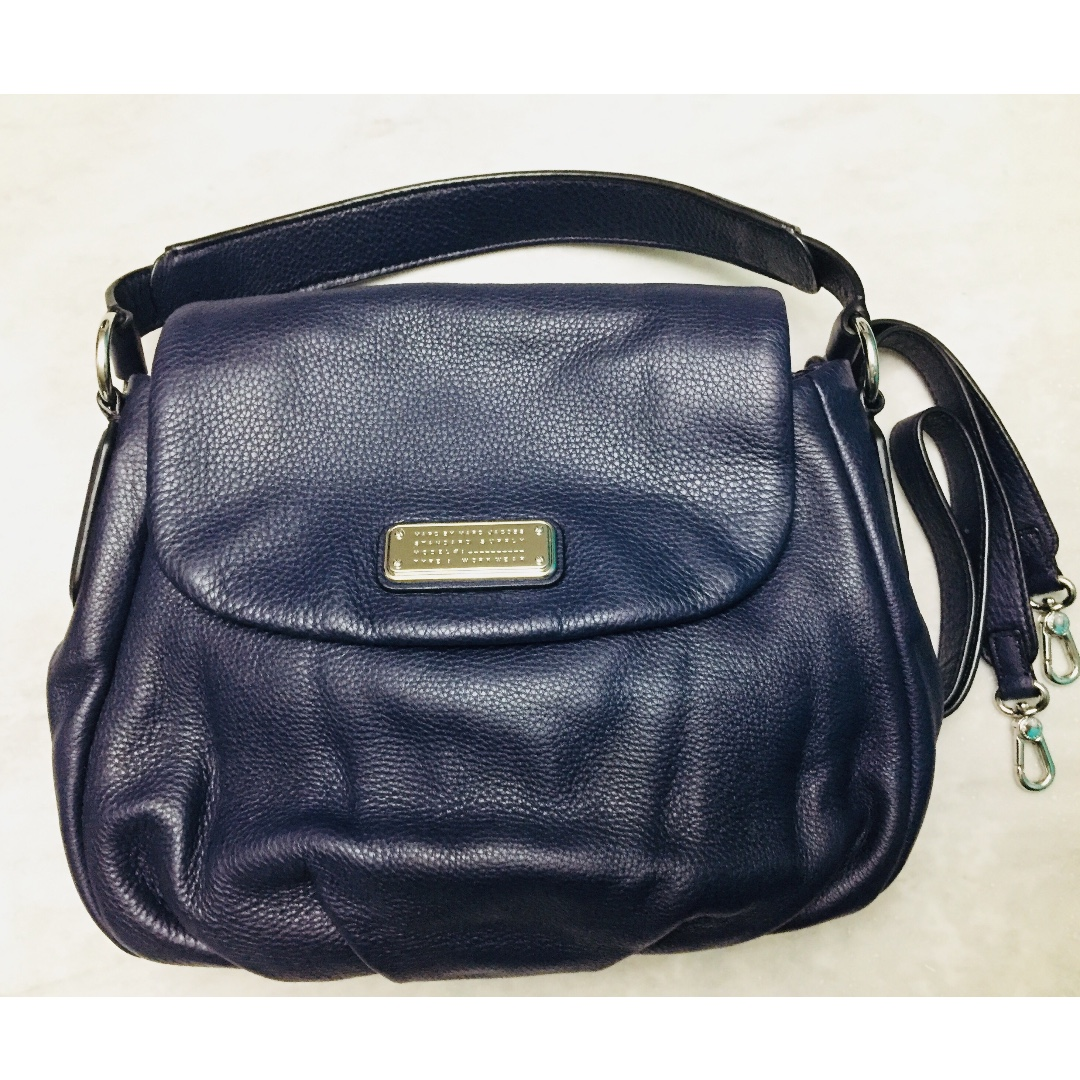 e725a5cb32 Marc by Marc Jacobs Classic Q Lil Ukita Satchel Navy Blue (Price ...