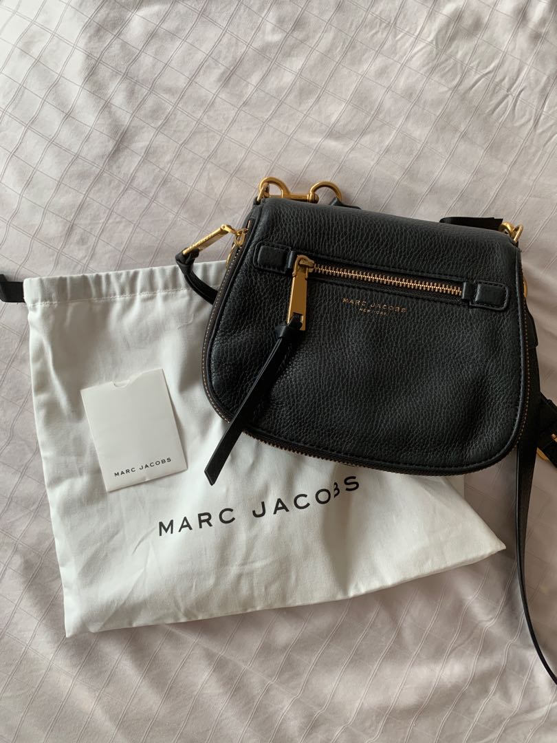 c8ce6471feb26 marc jacobs recruit small saddle bag