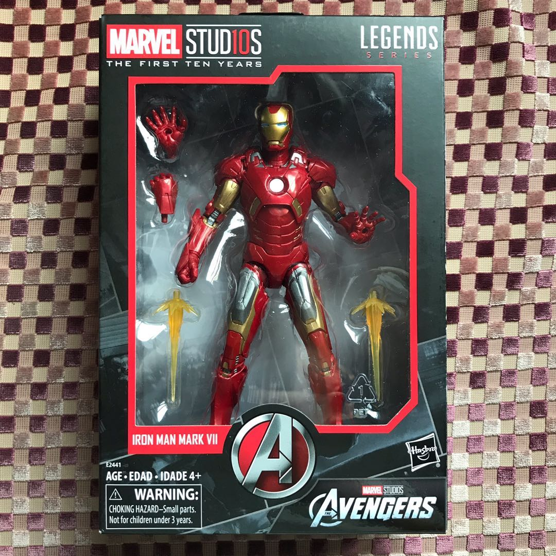 Marvel Legends Studios First 10 Years Avengers IRON MAN MARK VII Action Figure