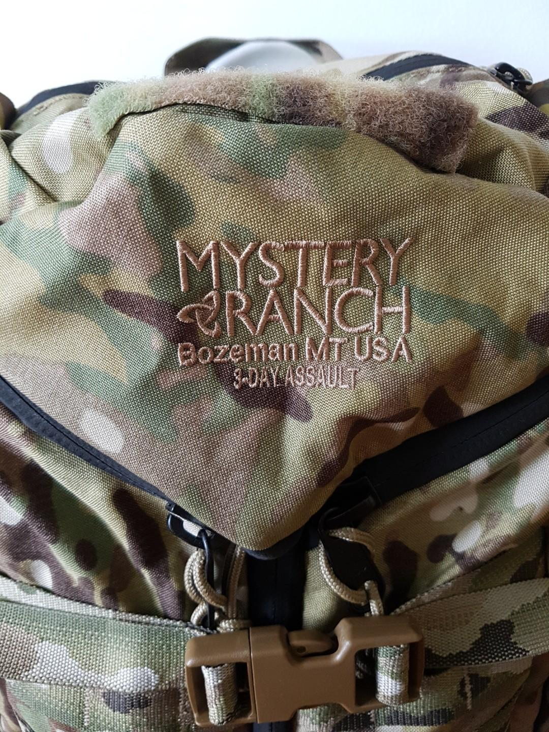 Mystery Ranch 3DAP multicam BVS (USA made)