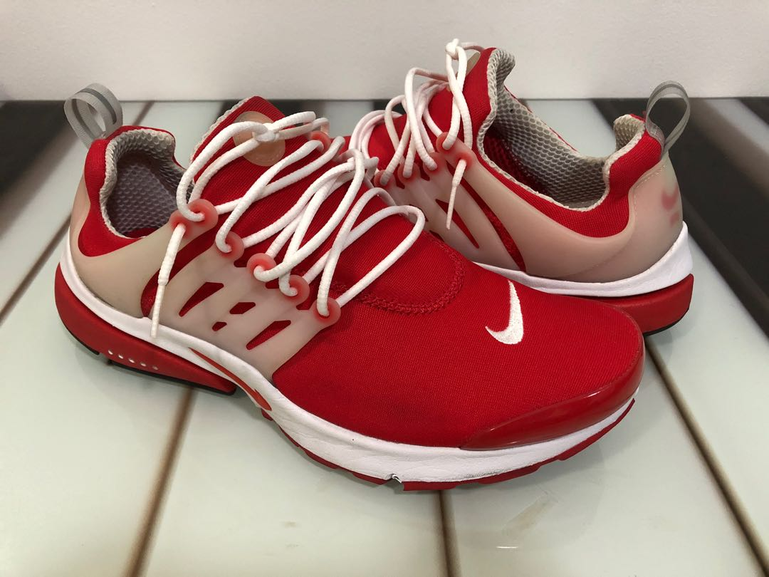 reputable site eb7c6 af72c Nike Air Presto Comet Red, Mens Fashion, Footwear, Sneakers on Carousell