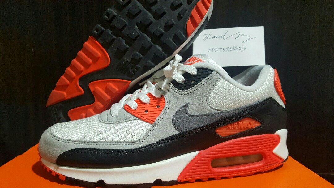 outlet store 573b8 0a151 Nike Airmax 90 OG Infrared Mens size 9