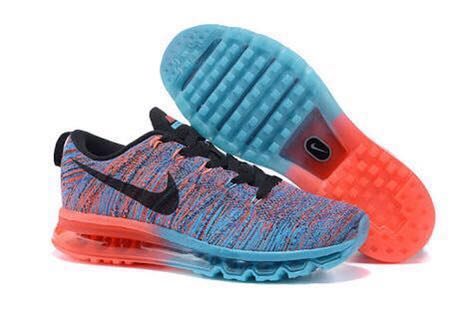 low priced d3a06 63ad1 Nike Flyknit Air Max Blue Lagoon - PRELOVED MURAH ORIGINAL, Men's ...