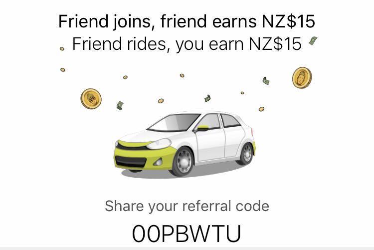 Ola Referral Code ($15 Voucher)